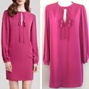 Diane von Furstenberg Florane Silk Tassel Dress 8